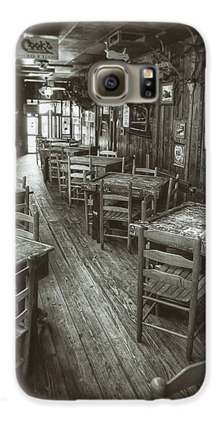 Chicken Galaxy S6 Case - Dixie Chicken Interior by Scott Norris