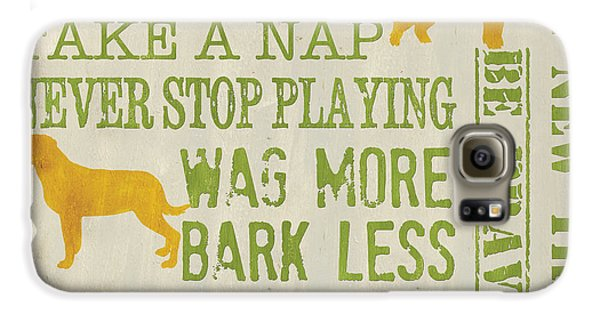 Wildlife Galaxy S6 Case - Dog Wisdom by Debbie DeWitt
