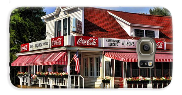 Door County Wilson's Ice Cream Store Galaxy S6 Case