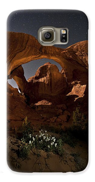 Double Arch In The Moonlight Galaxy S6 Case