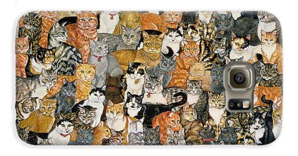 Double Cat Spread Galaxy S6 Case