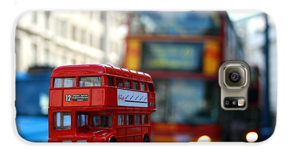 Double Deckers At Piccadilly Circus  Galaxy S6 Case