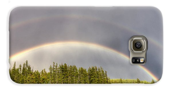 Double Rainbow Galaxy S6 Case