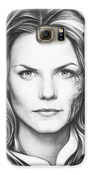 Doctor Galaxy S6 Case - Dr. Cameron - House Md by Olga Shvartsur