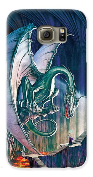 Dragon Lair With Stairs Galaxy S6 Case by The Dragon Chronicles - Robin Ko