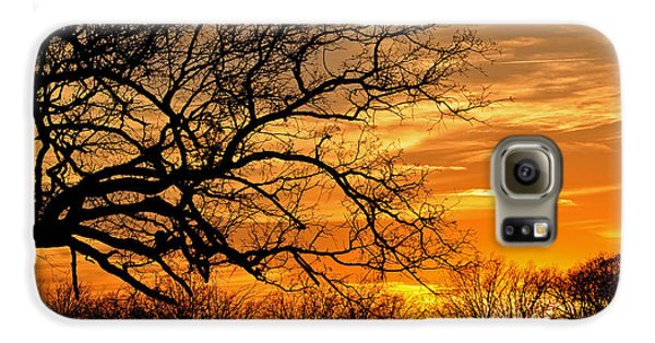 Dramatic Sunset  Galaxy S6 Case