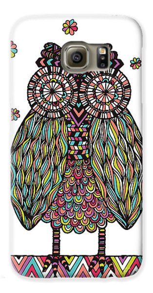 Dream Owl Galaxy S6 Case by Susan Claire