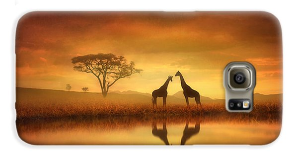 Dreaming Of Africa Galaxy S6 Case by Jennifer Woodward
