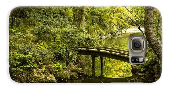 Dreamy Japanese Garden Galaxy S6 Case by Sebastian Musial