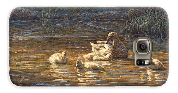 Duck Galaxy S6 Case - Ducks by Lucie Bilodeau