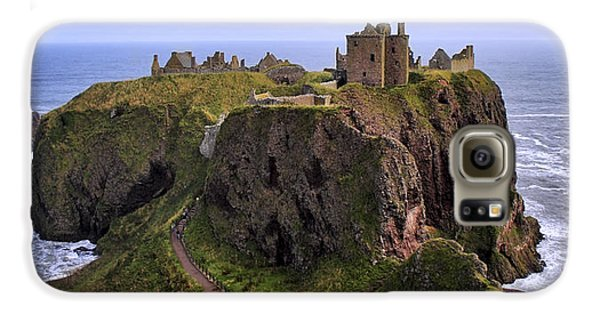 Dunnottar Castle Panorama Galaxy S6 Case