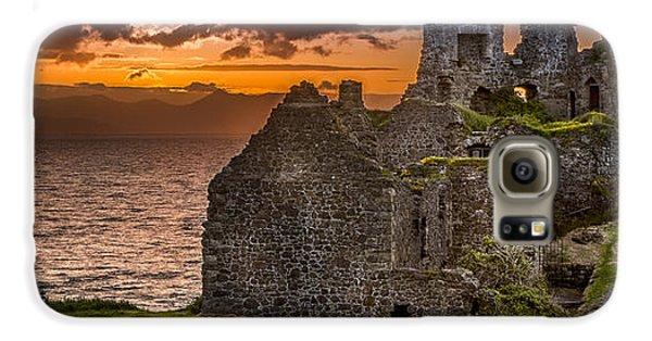 Dunure Castle Ayrshire Scotland Galaxy S6 Case