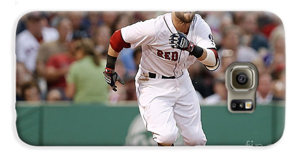 Dustin Pedroia Galaxy S6 Case by Marvin Blaine