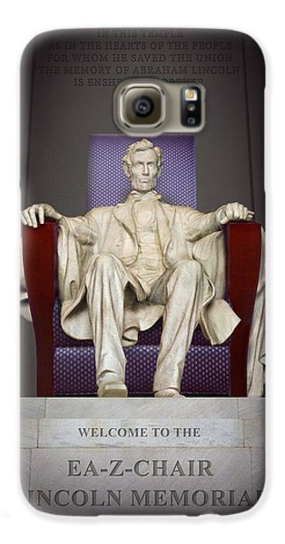 Ea-z-chair Lincoln Memorial 2 Galaxy S6 Case by Mike McGlothlen