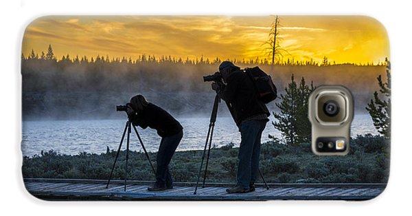 Early Birds Yellowstone National Park Galaxy S6 Case