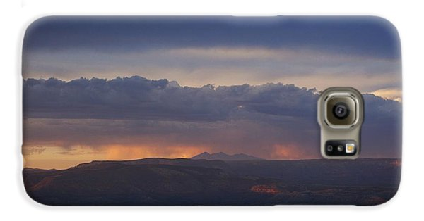 Early Monsoon Sunset Over San Francisco Peaks Galaxy S6 Case