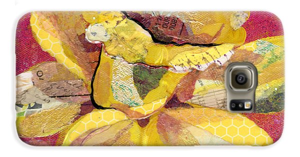 Orchid Galaxy S6 Case - Early Spring IIi  Daffodil Series by Shadia Derbyshire