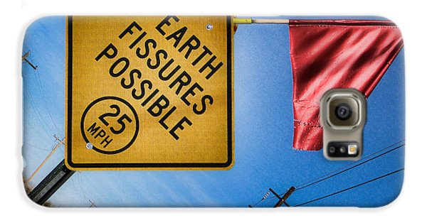 Earth Fissures Possible Galaxy S6 Case