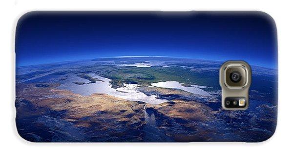 Turkey Galaxy S6 Case - Earth - Mediterranean Countries by Johan Swanepoel