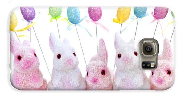 Easter Bunny Toys Galaxy S6 Case by Elena Elisseeva
