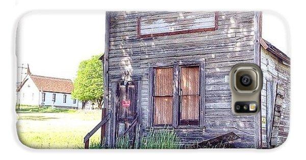 Instagood Galaxy S6 Case - Eastern Oregon Road Trip An Old Shop by Blenda Studio