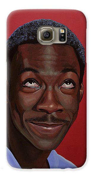 Eddie Murphy Painting Galaxy S6 Case