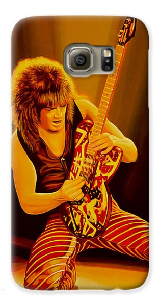Eddie Van Halen Painting Galaxy S6 Case