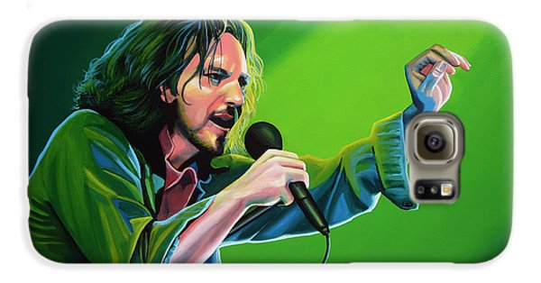 Eddie Vedder Of Pearl Jam Galaxy S6 Case