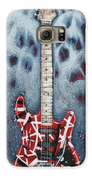 Rock And Roll Galaxy S6 Case - Eddie's Frankenstrat by Arturo Vilmenay