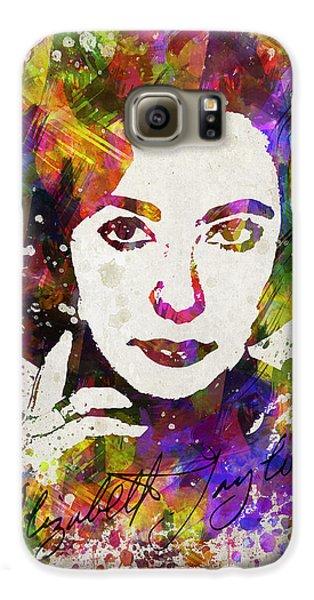 Elizabeth Taylor In Color Galaxy S6 Case