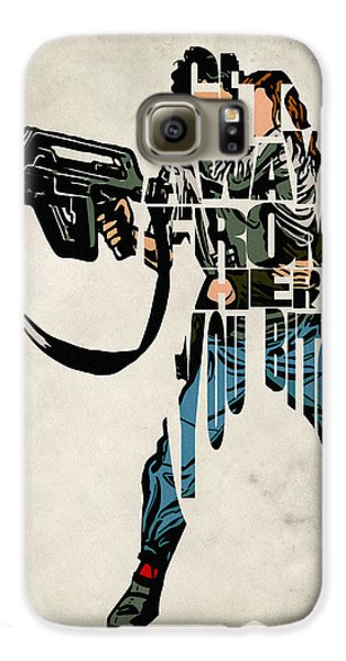Ellen Ripley From Alien Galaxy S6 Case