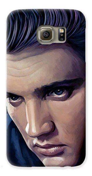 Elvis Presley Artwork 2 Galaxy S6 Case by Sheraz A