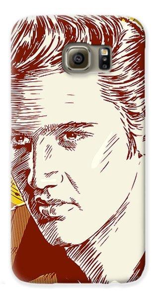 Elvis Presley Pop Art Galaxy S6 Case by Jim Zahniser
