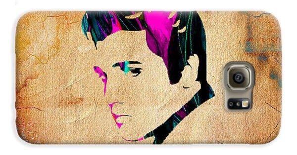 Elvis Presly Wall Art Galaxy S6 Case by Marvin Blaine