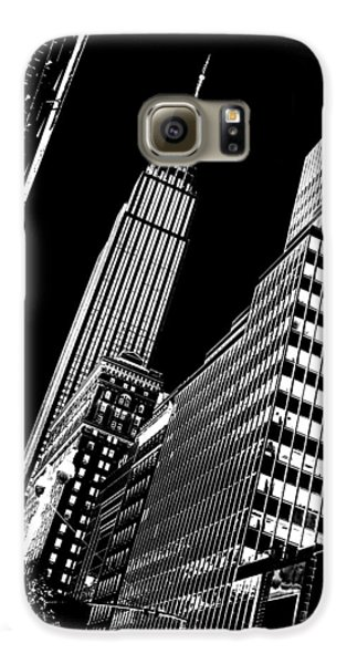 Empire State Building Galaxy S6 Case - Empire Perspective by Az Jackson