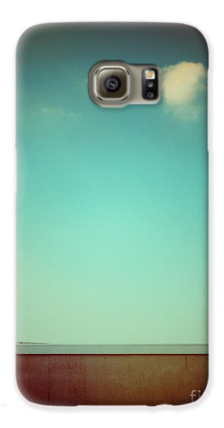 Emptiness With Wall And Cloud Galaxy S6 Case by Silvia Ganora