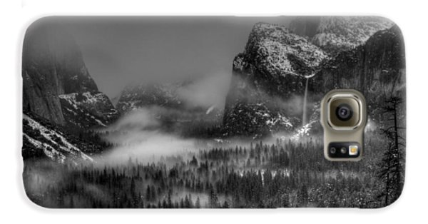 Enchanted Valley In Black And White Galaxy S6 Case