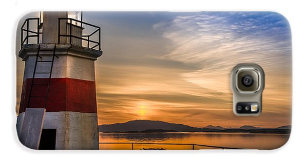 Lighthouse Crinan Canal Argyll Scotland Galaxy S6 Case