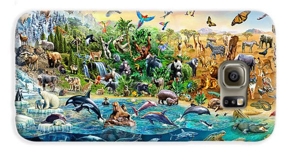 Endangered Species Galaxy S6 Case