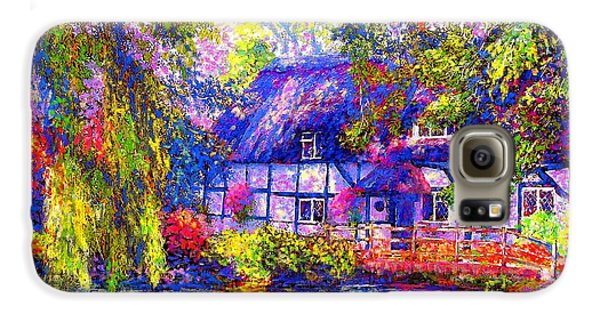 Duck Galaxy S6 Case - English Cottage by Jane Small