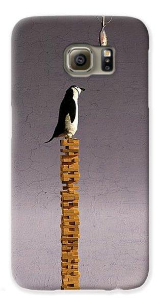 Penguin Galaxy S6 Case - Equilibrium V by Cynthia Decker