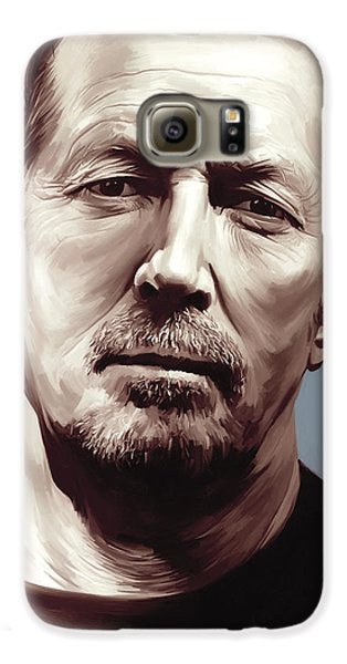 Eric Clapton Artwork Galaxy S6 Case by Sheraz A
