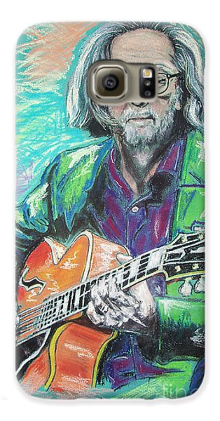 Eric Clapton Galaxy S6 Case by Melanie D