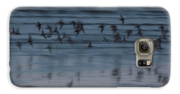 Galaxy S6 Case featuring the photograph Evening Abstract by Alex Lapidus