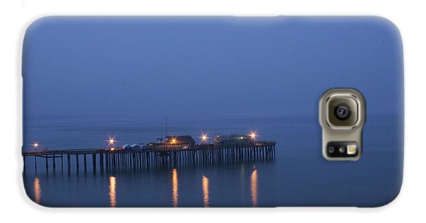 Galaxy S6 Case featuring the photograph Evening Enters Capitola by Lora Lee Chapman