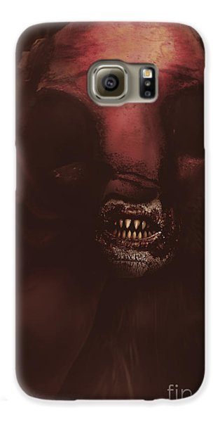 Evil Greek Mythology Minotaur Galaxy S6 Case
