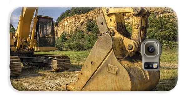 Excavator At Big Rock Quarry - Emerald Park - Arkansas Galaxy S6 Case
