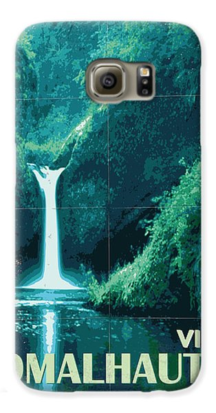 Aliens Galaxy S6 Case - Exoplanet 04 Travel Poster Fomalhaut B by Chungkong Art