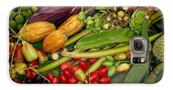 Exotic Fruits Galaxy S6 Case by Carey Chen