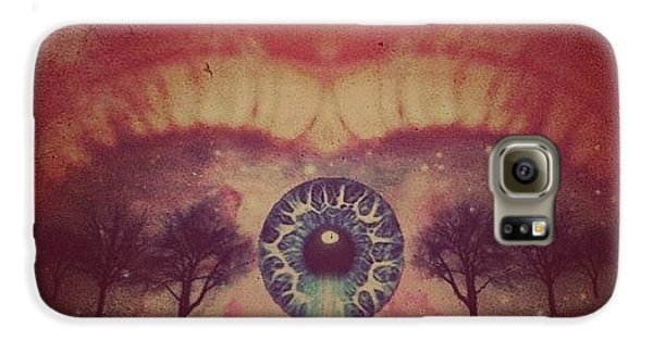Edit Galaxy S6 Case - eye #dropicomobile #filtermania by Tatyanna Spears